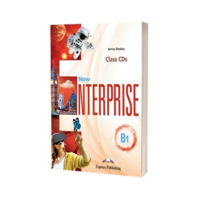 Curs limba engleza New Enterprise B1 Audio Set 3 CD, Jenny Dooley, Express Publishing