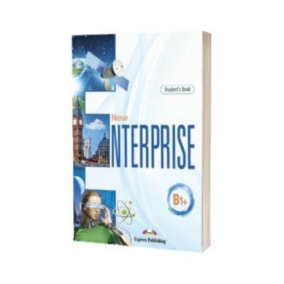 Curs limba engleza New Enterprise B1. Manual cu Digibook App, Jenny Dooley, Express Publishing