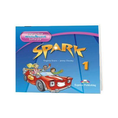 Curs limba engleza Spark 1 Monstertrackers. Soft pentru Tabla Interactiva, Jenny Dooley, Express Publishing