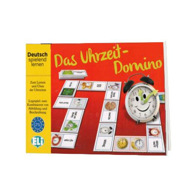 Das Uhrzeit-Domino A1-A2, ELI