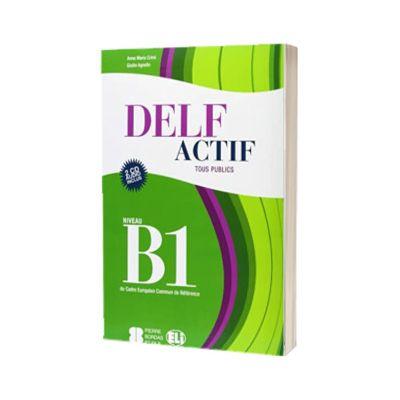 DELF Actif B1. Tous publics. Livre, A. M. Crimi, ELI
