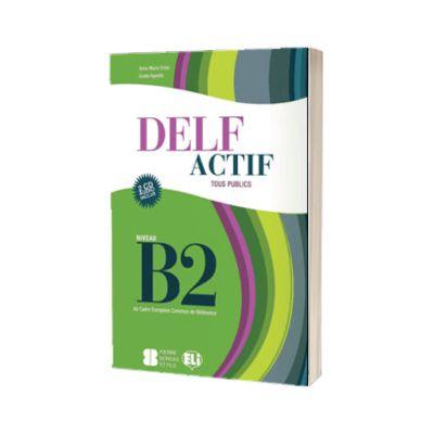 DELF Actif B2. Tous publics. Livre, A. M. Crimi, ELI