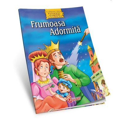 Frumoasa adormita - Povesti de colorat (Macaw Book)