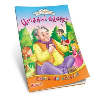 Uriasul egoist - Carte de colorat
