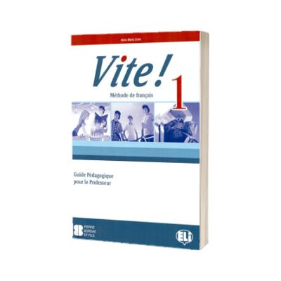 Vite! 1. Guide pedagogique, A. M. Crimi, ELI