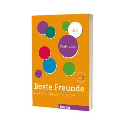 Beste Freunde A1. Testtrainer mit Audio-CD, Dagmar Giersberg, HUEBER