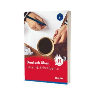 Deutsch uben. Lesen und Schreiben A1 Buch, Bettina Holdrich, HUEBER