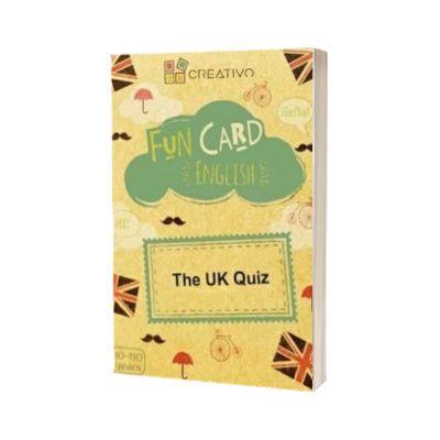 Fun card English The UK Quiz, CREATIVO