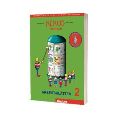 Kikus Deutsch. Arbeitsblatter 2 (4 bis 7 Jahre) Sprachen lernen im Vor - und Grundschulalter, Edgardis Garlin, HUEBER