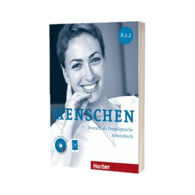 Menschen A2. 2. Arbeitsbuch mit Audio-CD, Anna Breitsameter, HUEBER
