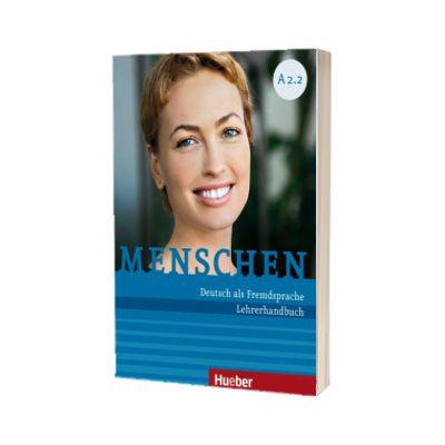 Menschen A2. 2. Lehrerhandbuch, Susanne Kalender, HUEBER