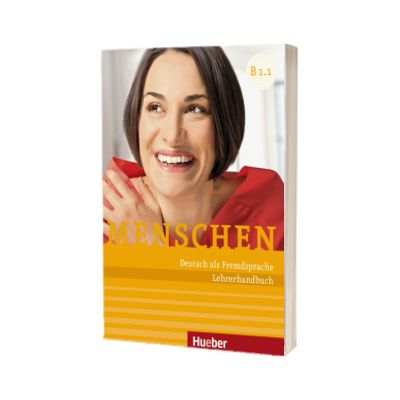 Menschen B1. 1. Lehrerhandbuch, Susanne Kalender, HUEBER