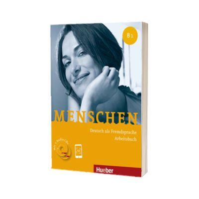 Menschen B1. Arbeitsbuch mit 2 Audio-CDs, Anna Breitsameter, HUEBER