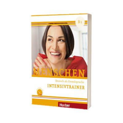 Menschen B1. Intensivtrainer mit Audio-CD, Dorothee Kersting, HUEBER