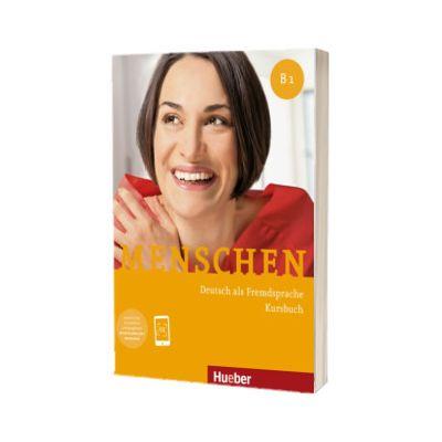 Menschen B1. Kursbuch mit Audio Download, Charlotte Habersack, HUEBER