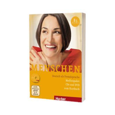 Menschen B1. Medienpaket 3 Audio-CDs and 1 DVD for the coursebook, Charlotte Habersack, HUEBER