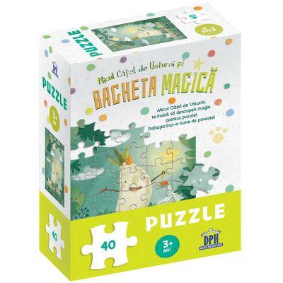 Micul catel de usturoi si bagheta magica - puzzle, Lavinia Trifan, DIDACTICA PUBLISHING HOUSE