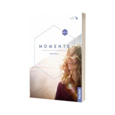 Momente A1. 1. Arbeitsbuch plus interaktive Version, Monika Reimann, HUEBER