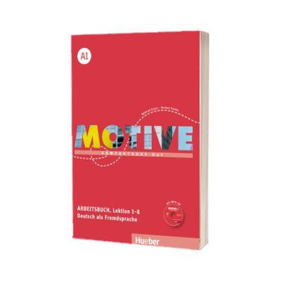Motive A1. Arbeitsbuch, Lektion 1-8 mit MP3 Audio CD Kompaktkurs DaF, Wilfried Krenn, HUEBER