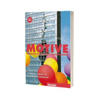 Motive A1. Kursbuch, Lektion 1-8 Kompaktkurs DaF, Wilfried Krenn, HUEBER
