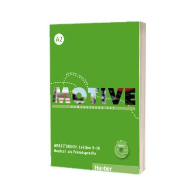 Motive A2. Arbeitsbuch, Lektion 9-18 mit MP3 Audio CD Kompaktkurs DaF, Wilfried Krenn, HUEBER