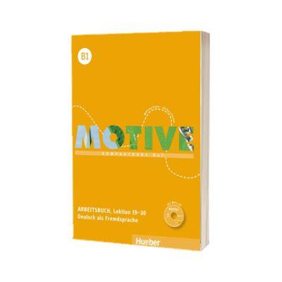 Motive B1. Arbeitsbuch, Lektion 19-30 mit MP3 Audio CD Kompaktkurs DaF, Wilfried Krenn, HUEBER