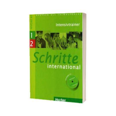 Schritte international 1 - 2. Intensivtrainer mit Audio CD, Daniela Niebisch, HUEBER