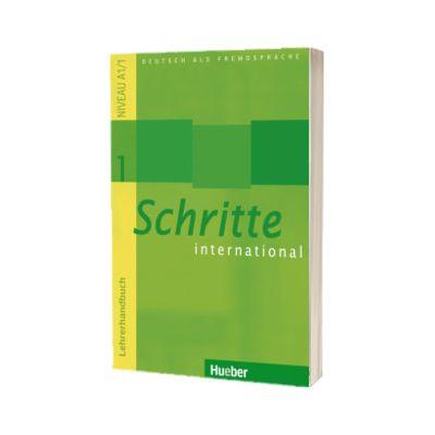 Schritte international 1. Lehrerhandbuch, Petra Klimaszyk, HUEBER