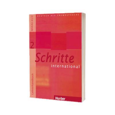 Schritte international 2. Lehrerhandbuch, Petra Klimaszyk, HUEBER