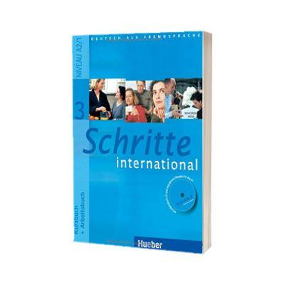 Schritte international 3. Kursbuch Und Arbeitsbuch Mit CD Zum Arbeitsbuch, Daniela Niebisch, HUEBER