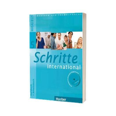 Schritte International 5. Kursbuch und Arbeitsbuch mit Audio-CD zum Arbeitsbuch und interaktiven Ubungen, Susanne Kalender, HUEBER