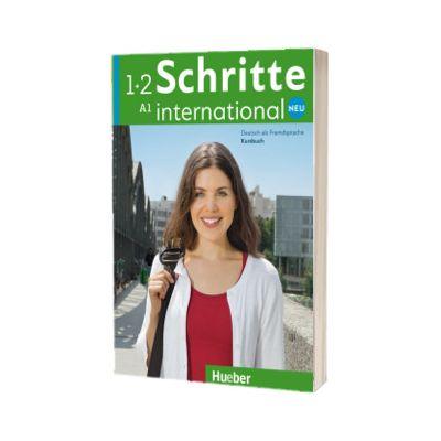 Schritte international Neu 1+2. Kursbuch, Daniela Niebisch, HUEBER