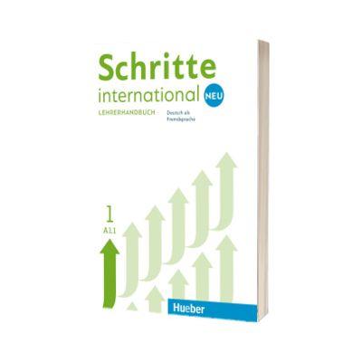 Schritte international Neu 1. Lehrerhandbuch, Susanne Kalender, HUEBER