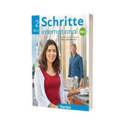 Schritte international Neu 2. Kursbuch und Arbeitsbuch + CD zum Arbeitsbuch, Daniela Niebisch, HUEBER