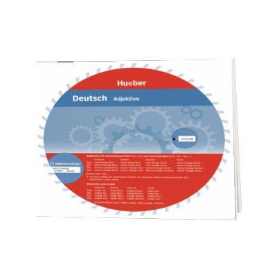 Deutsch. Adjektive Wheel. Deutsch Adjektive, HUEBER