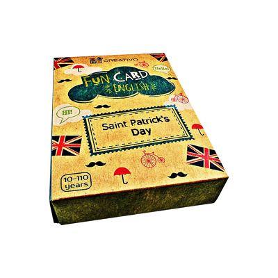 Fun Card English Saint Patricks day and Ireland, CREATIVO