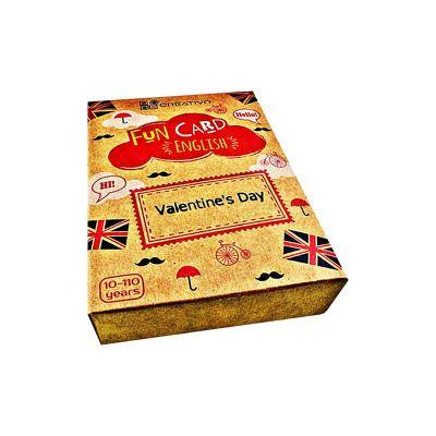 Fun Card English Valentines Day, CREATIVO