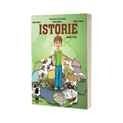 Istorie, manual pentru clasa a IV-a 2021, Alina Bratu, CORVIN