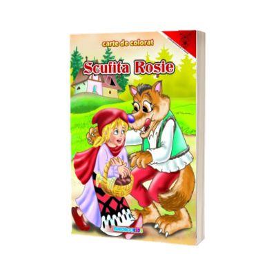Scufita Rosie, carte de colorat, EUROBOOKIDS