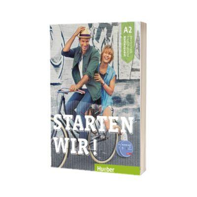 Starten wir! A 2 Medienpaket 3 Audio-CDs zum Kursbuch + 1 Audio-CDs zum Arbeitsbuch + 1 MP3-CD mit Audiotracks vom Kurs und vom Arbeitsbuch, Rolf Bruseke, HUEBER