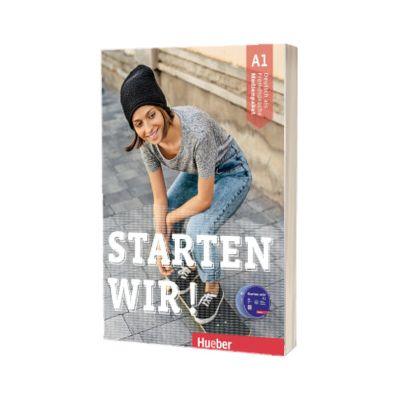 Starten wir! A1 Medienpaket 3 Audio-CDs zum Kurs und Arbeitsbuch + 1 DVD-Rom mit zusatzlichen Ubungen, Rolf Bruseke, HUEBER