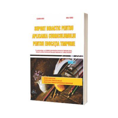 Suport didactic pentru aplicarea Curricumului pentru invatamantul prescolar nivel I model 2